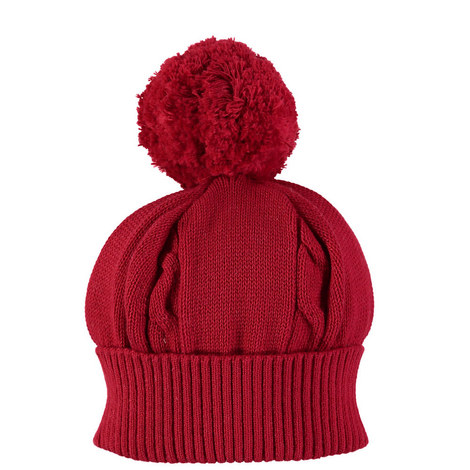 Fuzzy Knitted Bobble Hat Baby, ${color}