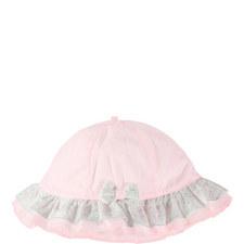 Ruffle Trim Hat Baby