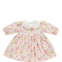 Floral Corduroy Dress Baby, ${color}