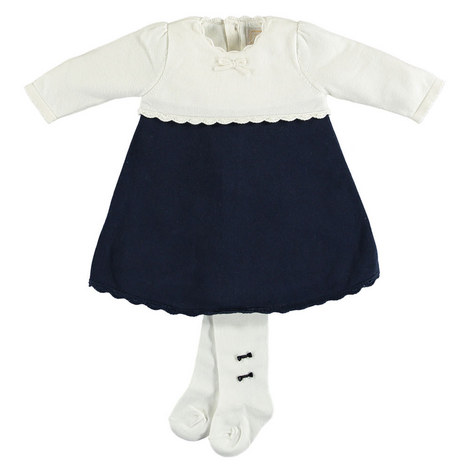 Janais Knit Dress And Tights Baby, ${color}