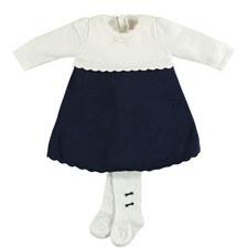 Janais Knit Dress And Tights Baby