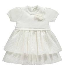Kesia Knit Tulle Dress Baby