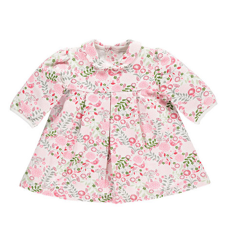 Lavinia Floral Dress and Tights Set Baby, ${color}
