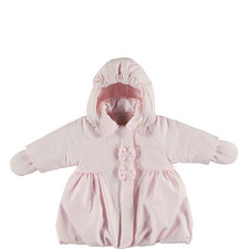 Joanne Hooded Coat and Mittens Baby