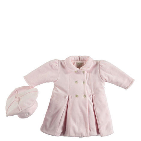 Double Breasted Coat and Beret Baby, ${color}