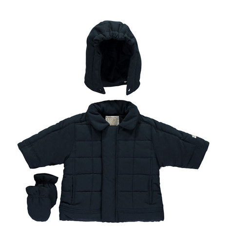 Liam Padded Jacket and Hat Set Baby, ${color}