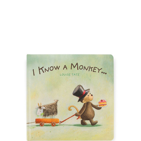 I Know A Monkey Book, ${color}