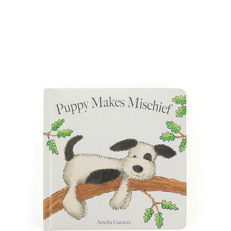 Puppy Makes Mischief Book, ${color}