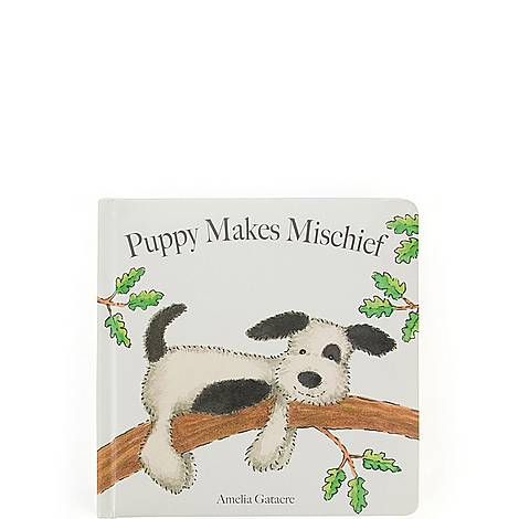 Puppy Makes Mischief Book, ${color}
