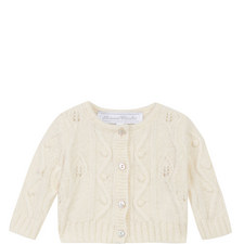 Bobble Knit Cardigan Baby