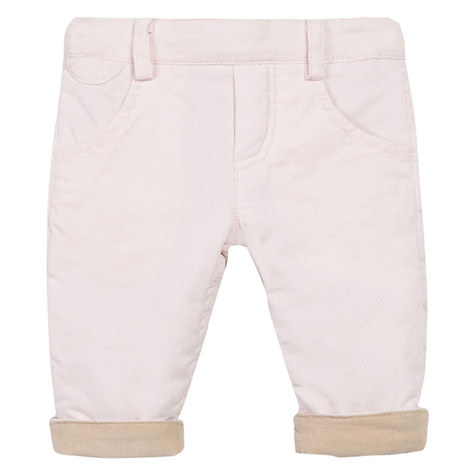 Reversible Corduroy Trousers Baby, ${color}