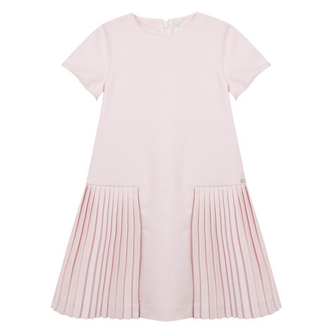 Pleated Drop Waist Dress Kids, ${color}