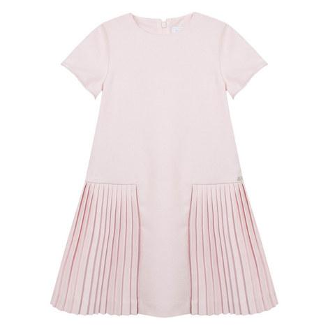 Pleated Drop Waist Dress Kids, ${color}
