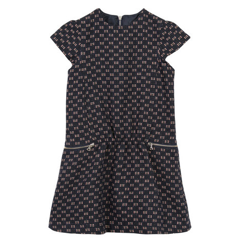 Tweed Pinafore Dress Kids, ${color}