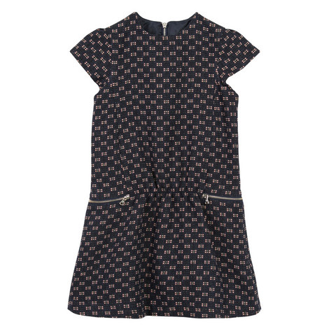 Tweed Pinafore Dress Teens, ${color}