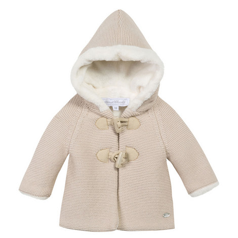 Hooded Duffle Coat Baby, ${color}