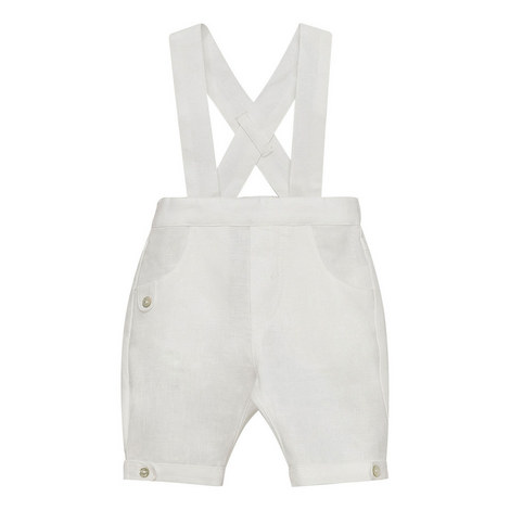 Linen Dungarees Baby, ${color}