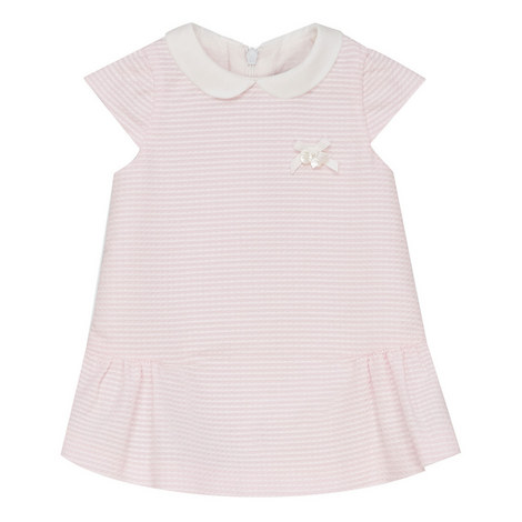 Peter Pan Collar Dress Baby, ${color}