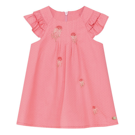 Embroidered Trapeze Dress Baby, ${color}