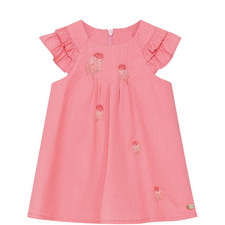 Embroidered Trapeze Dress Baby