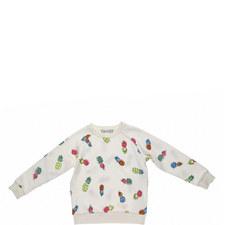 Betty Pineapple Sweatshirt Kids