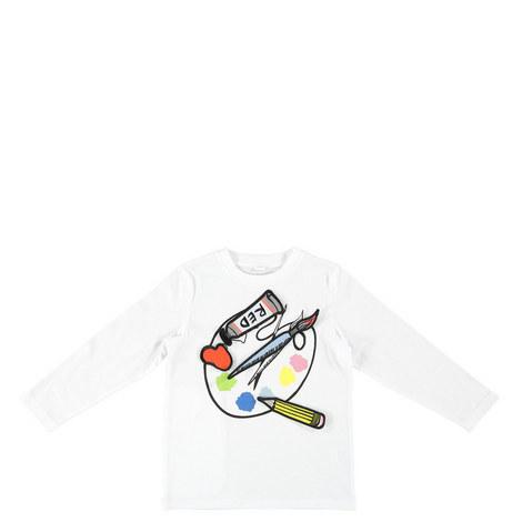 Bella Paint Palette T-Shirt Kids, ${color}