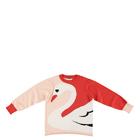 Lucky Swan Knit Teens, ${color}
