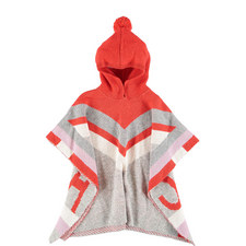 Bianca Hooded Knit Cape Kids