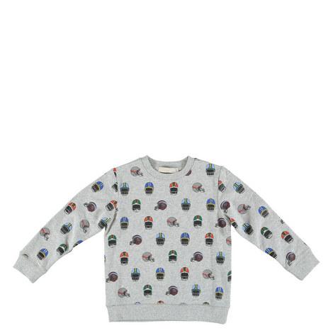 Biz Printed Sweatshirt Kids, ${color}