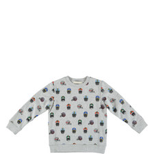 Biz Printed Sweatshirt Kids