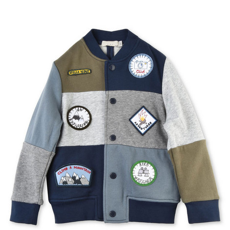 Roy Patched Jacket Kids, ${color}