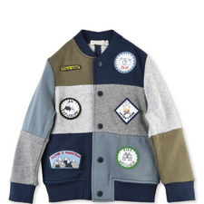 Roy Patched Jacket Kids