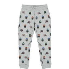 Zachary Printed Sweatpants Kids