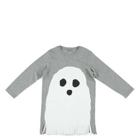 Ghosty T-Shirt Dress Kids, ${color}
