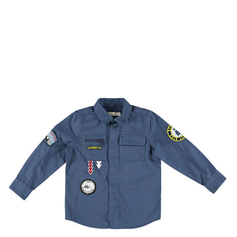 Enzo Patch Pocket Shirt Kids, ${color}