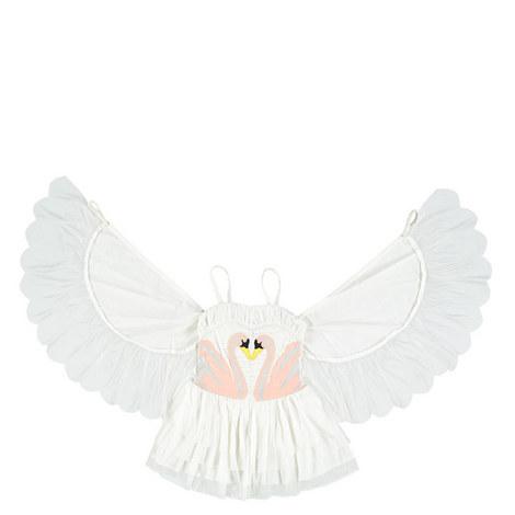 Bonny Swan Dress Teens, ${color}