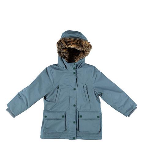 Blythe Faux Fur Coat Kids, ${color}