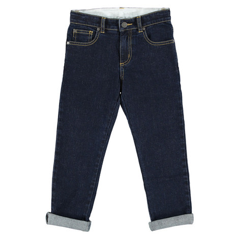 Lohan Cuffed Denims Kids, ${color}