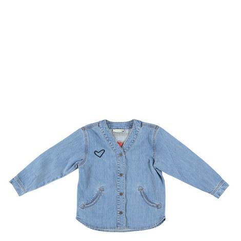 Smoothie Denim Shirt Kids, ${color}