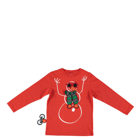 Barley Snowman T-Shirt Kids, ${color}
