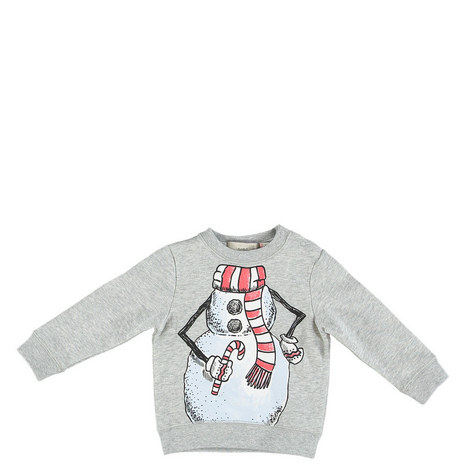 Biz Snowman Sweatshirt Kids, ${color}