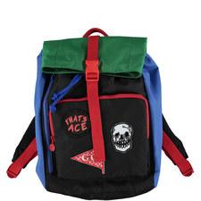 Black Blitz Back Pack Badges