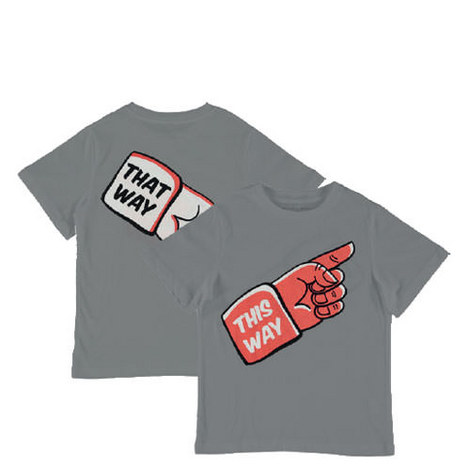 Arrow This/That Way T-Shirt Teens, ${color}
