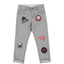 Lohan Patch Skinny Jeans
