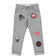 Lohan Patch Skinny Jeans Teens