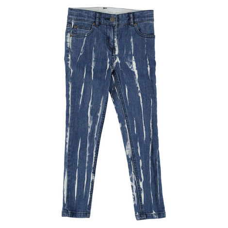 Nina Bleach Out Jeans Teens, ${color}