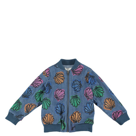 Abbot Shells and Sequins Bomber Jacket, ${color}