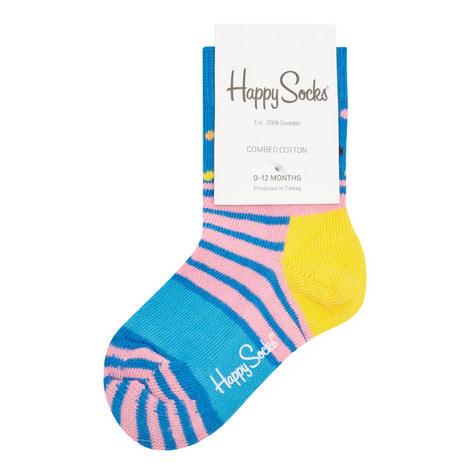 Multi-Stripe Socks Baby, ${color}