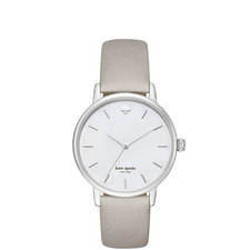 Metro Saffiano Leather Watch