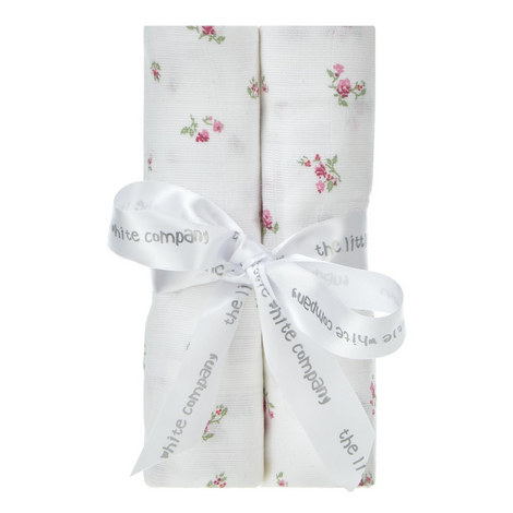 Winter Blossom Muslin Blanket Set, ${color}